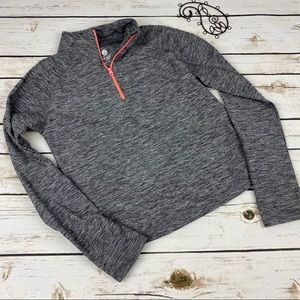 Old Navy Athletic Jacket 8 Thumbholes Pullover